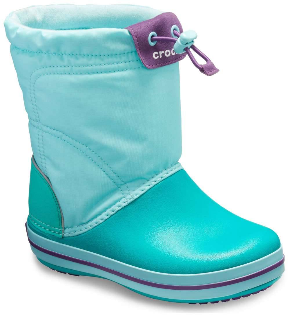 Crocs doposcí Crocband Lodgepoint Boot Ice Blue/Tropical Teal turchese - 24/25
