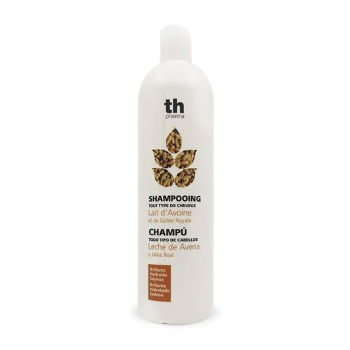 TH Pharma Shampoo per capelli - avena e pappa reale, 1000 ml