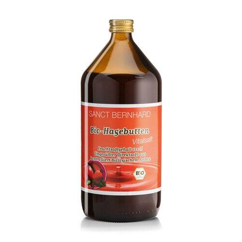 Sanct Bernhard 100 % succo di rosa canina – BIO, 1 l