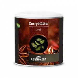 Cosmoveda Foglie intere di Curry BIO, 12 g