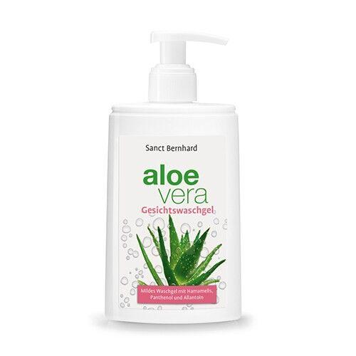sanct bernhard gel detergente viso all'aloe vera, 250 ml