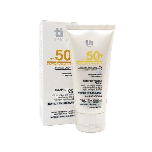 th pharma crema solare viso spf 50+, 50 ml