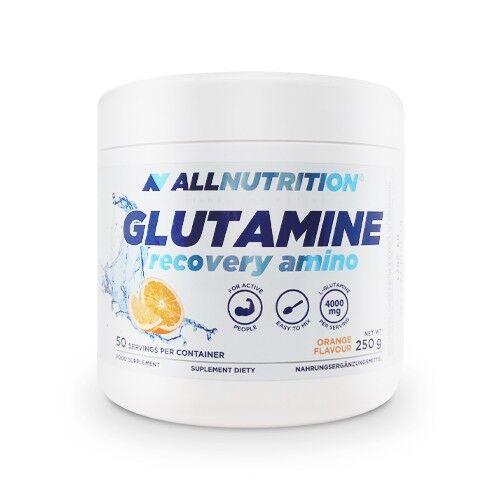 allnutrition glutammina al gusto di arancia, 250 g