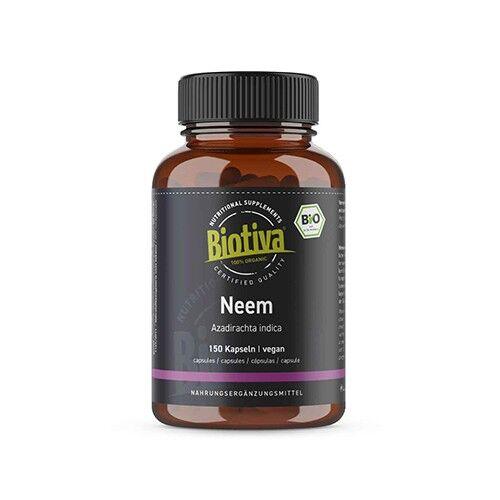 biotiva bio neem, 150 capsule