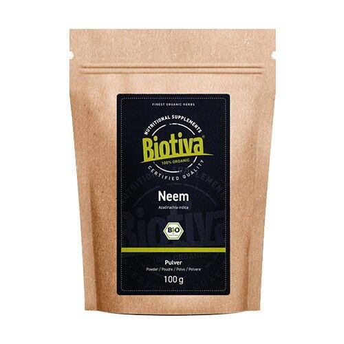biotiva bio neem in polvere, 100 g