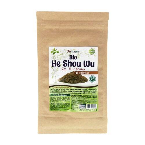 herbana he shou wu in polvere - bio, 125 g