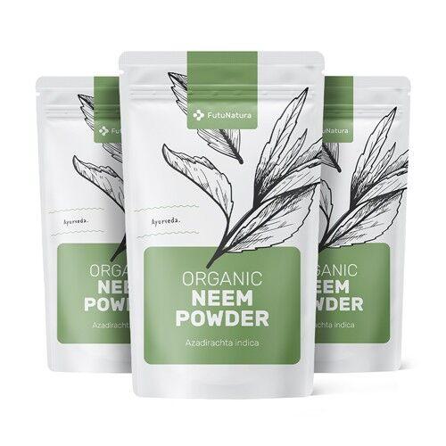 futunatura 3x bio neem in polvere, totale 750 g
