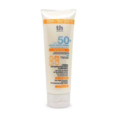 th pharma crema solare per bambini spf 50+, 250 ml