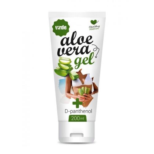 virde gel di aloe vera (con d-pantenolo), 200 ml