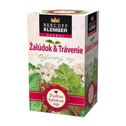 Bercoff Klember Stomaco e digestione, tè, 20x1.5 g