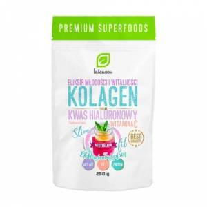 Intenson Collagene + Vitamina C + acido ialuronico, 250 g