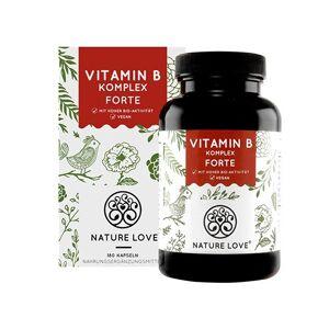 Nature Love Complesso di vitamina B forte, 180 capsule
