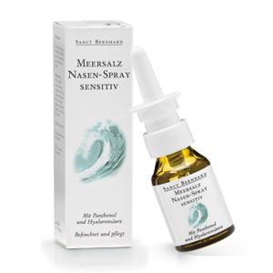 Sanct Bernhard Spray nasale con sale marino e acido ialuronico, 20 ml