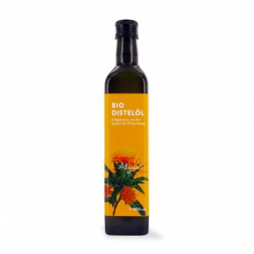 allgäuer olio di cartamo - bio, 500 ml