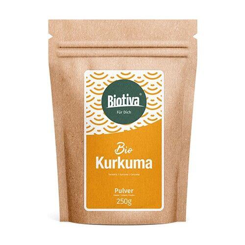 biotiva curcuma in polvere bio, 250 g