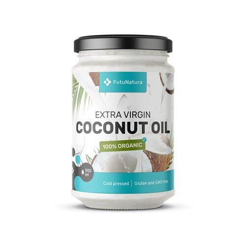 FutuNatura Olio di cocco BIO, extra vergine, 500 ml