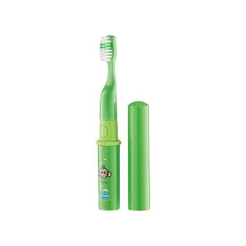 Hydrex Diagnostics Spazzolino da denti elettrico per bambini - verde, 1 pezzo