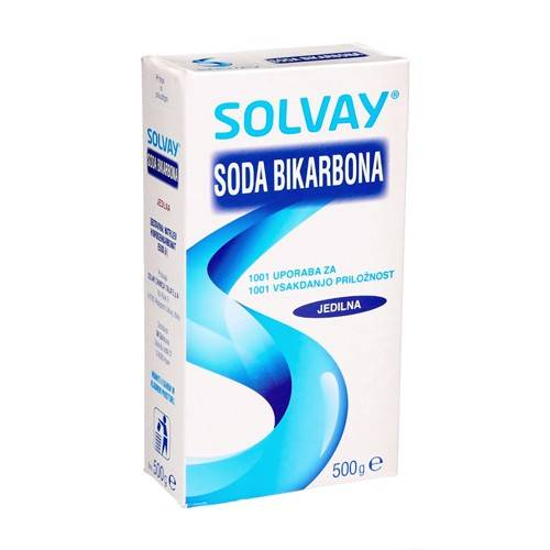 Solvay Bicarbonato di sodio, 500 g
