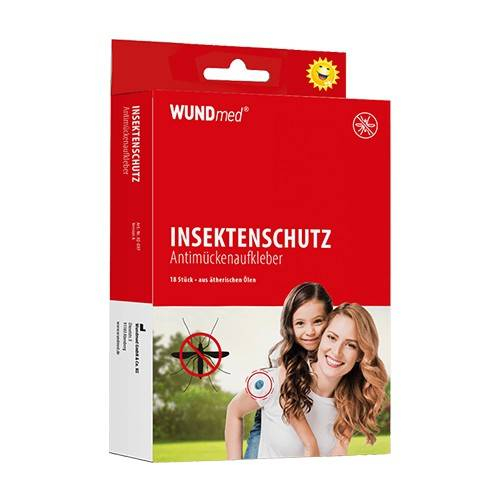 WUNDmed Adesivi antizanzare, 18 pezzi