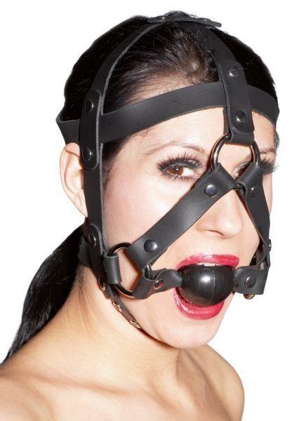 zado bavaglio facciale bondage con ball gag