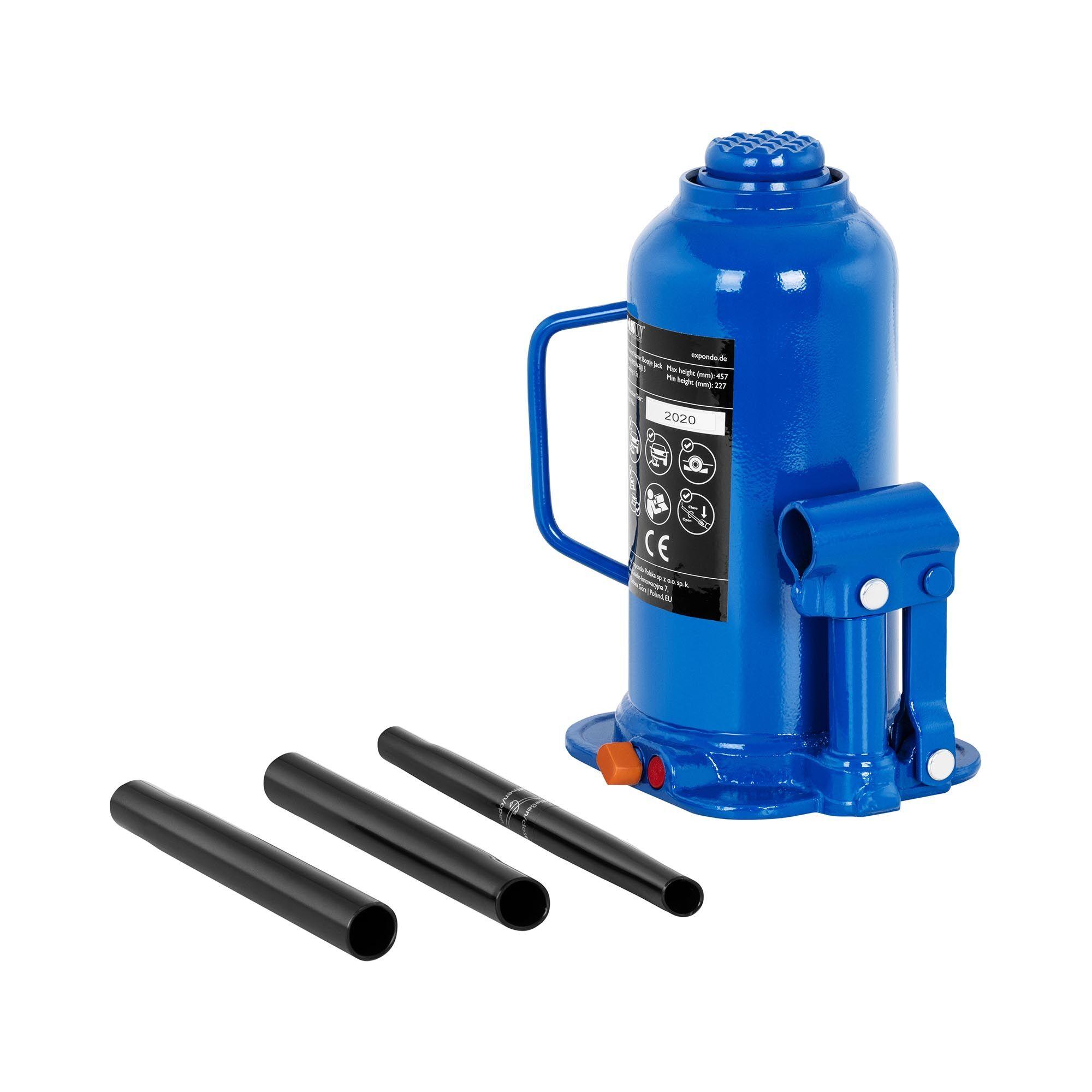 msw cric a bottiglia idraulico - solleva fino a 15 tonnellate -bj15