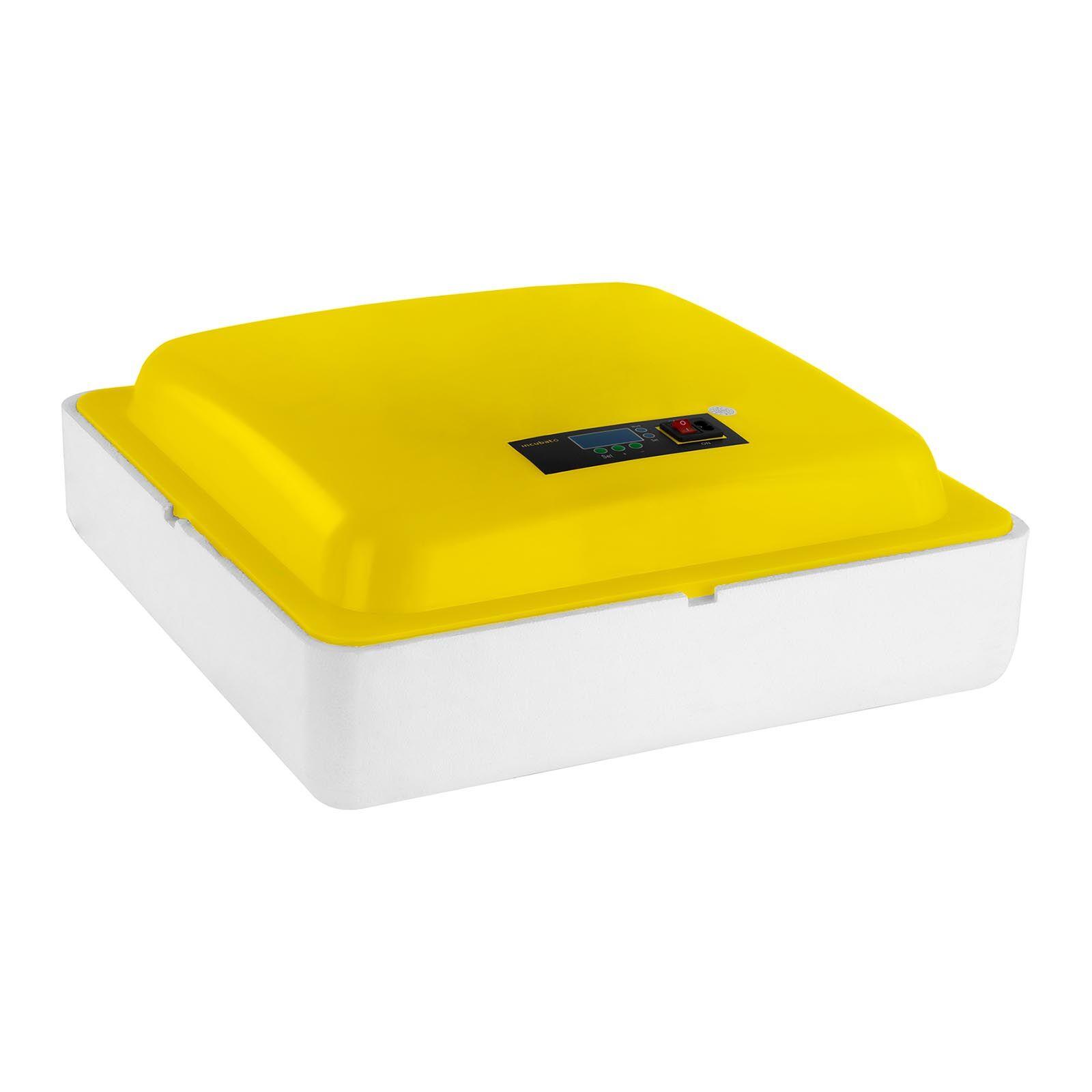 incubato Incubatrice per uova professionale - 88 uova - lampada sperauova inclusa IN-88DDI