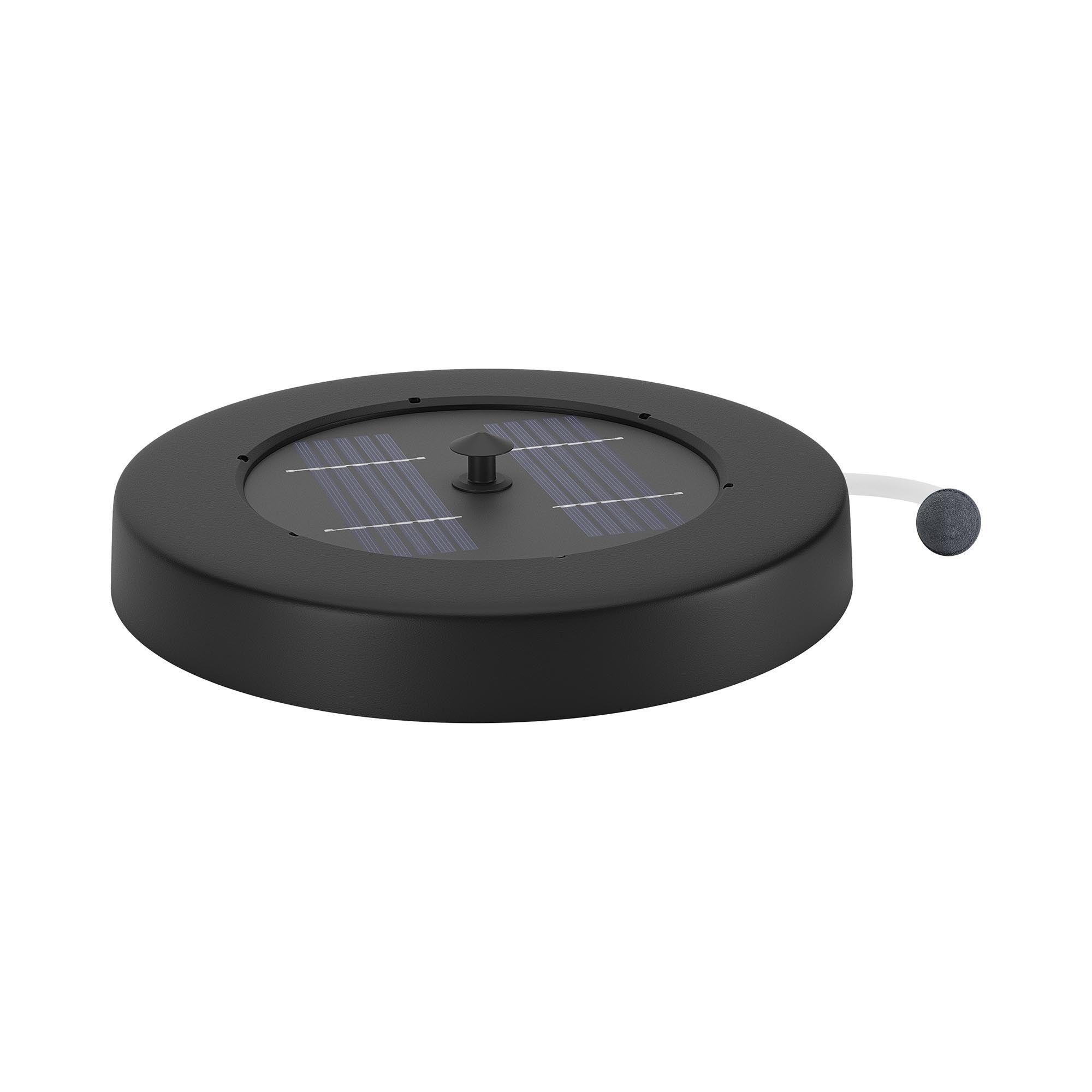 uniprodo pompa laghetto solare - galleggiante - 120 l/h uni_oxygenator_01