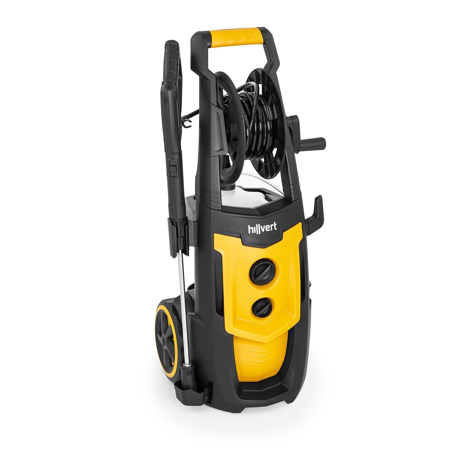 hillvert Idropulitrice ad alta pressione professionale - 2200 Watt - Con serbatoio per detersivo HT-HUDSON 2200