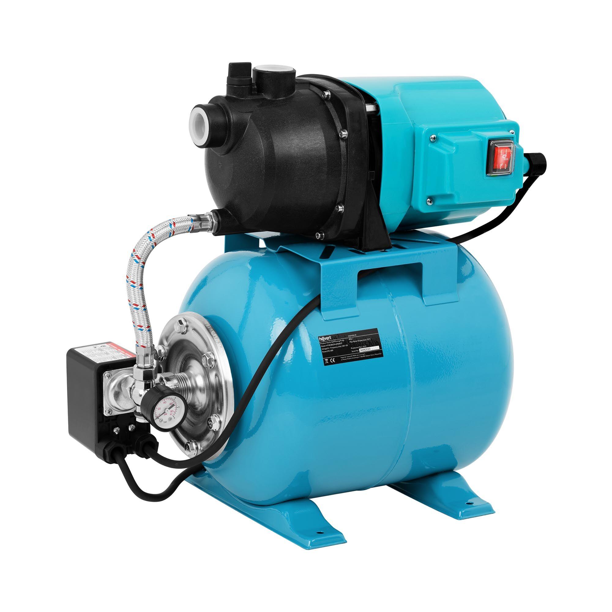 hillvert Pompa autoadescante - 2.700 l/h - 600 W HT-ROBSON-JP600CP