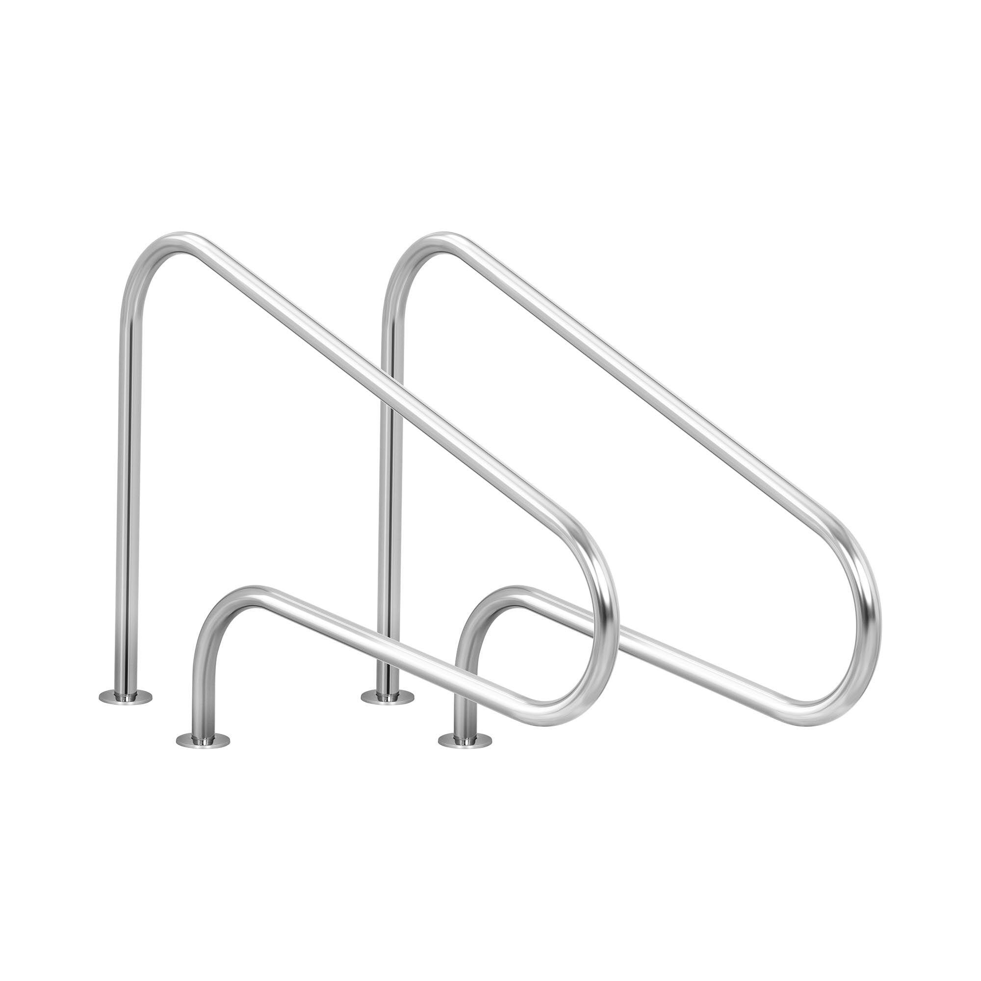 Uniprodo Scaletta per piscina UNI_LADDER_01