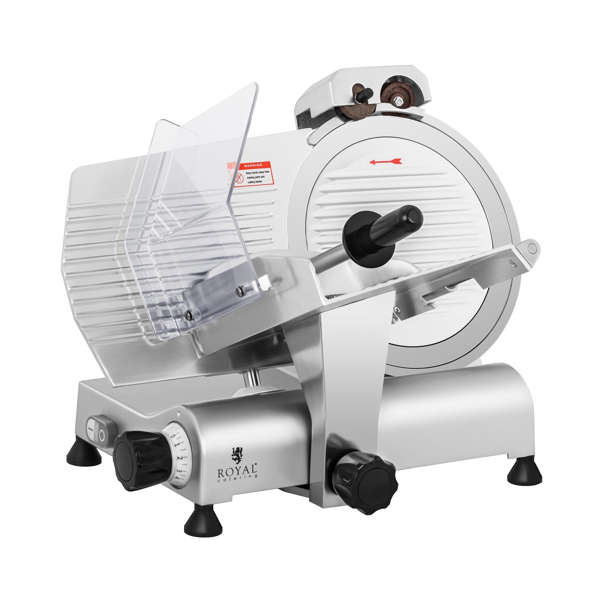 royal catering affettatrice professionale elettrica - Ø 300 mm - 0-11 mm - con affilacoltelli rcam-300e