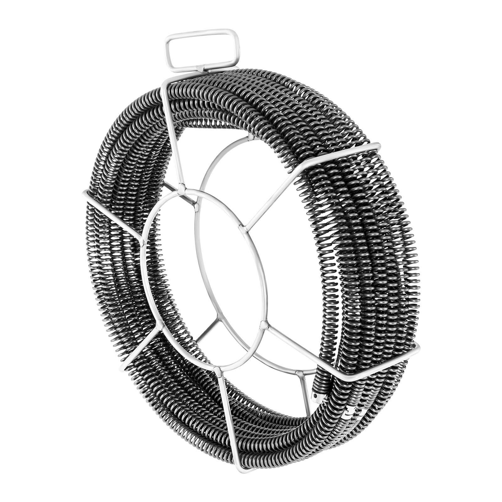 msw sonda spurgatubi professionale set - 5 x 2,3 m - Ø 16 mm & 1 x 2,4 m - Ø 15 mm -cable set 2