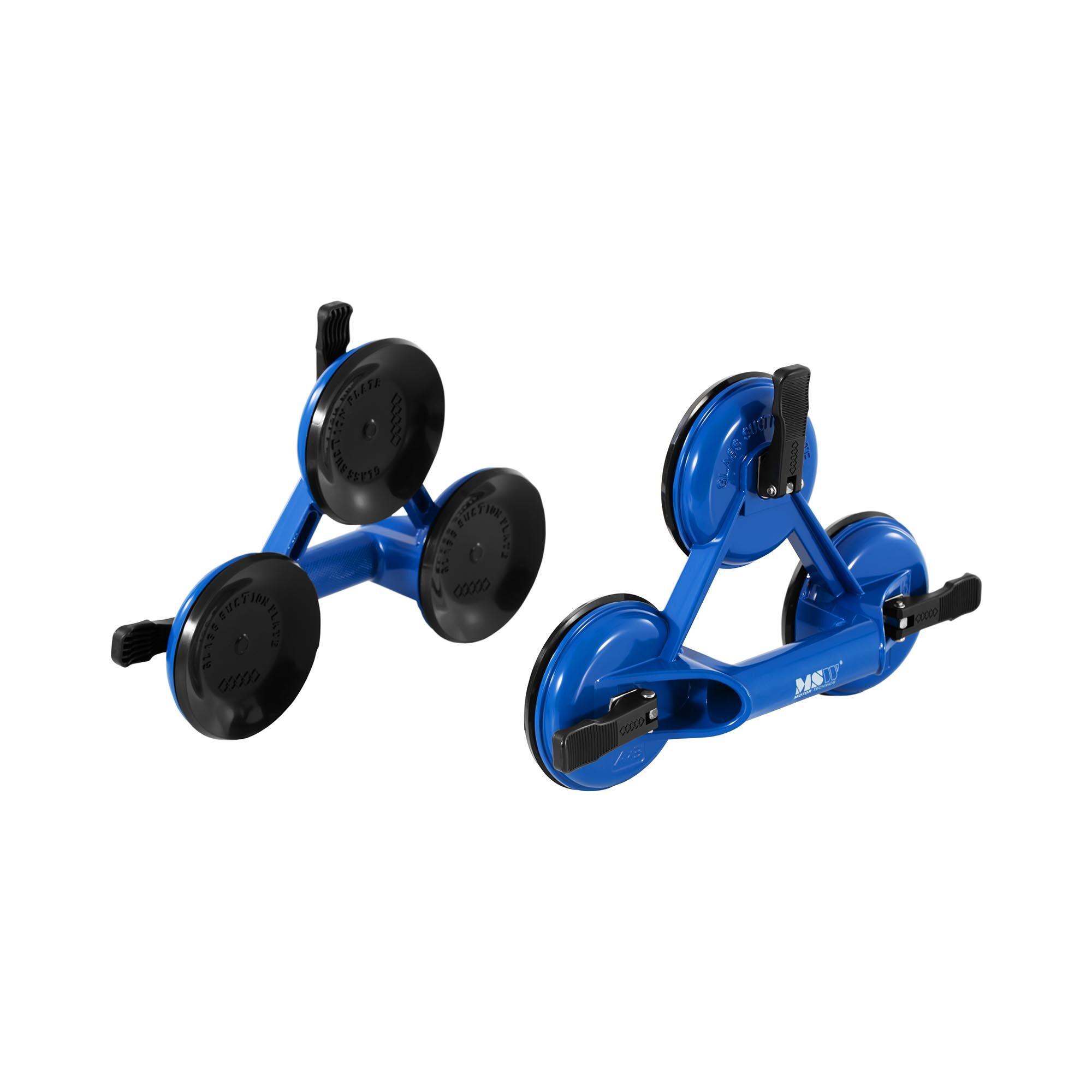 msw ventosa per vetro professionale - 180 kg - 3 bracci - 2 pezzi -gsl2-180160-3pc