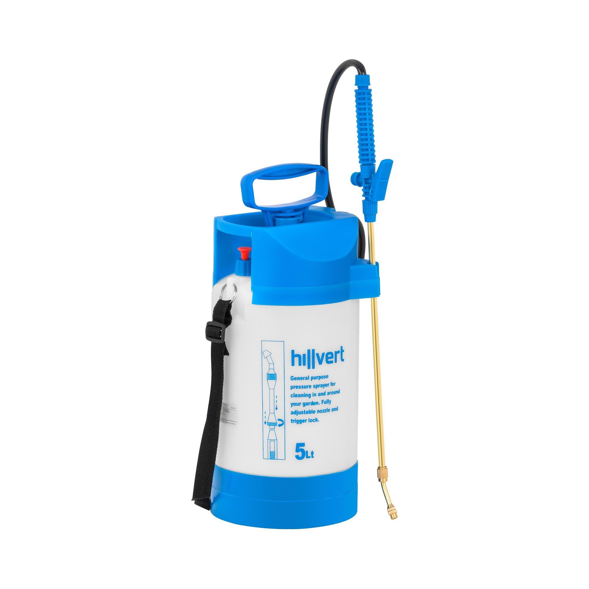 hillvert pompa irroratrice a pressione - 5 l ht-columbia-5l