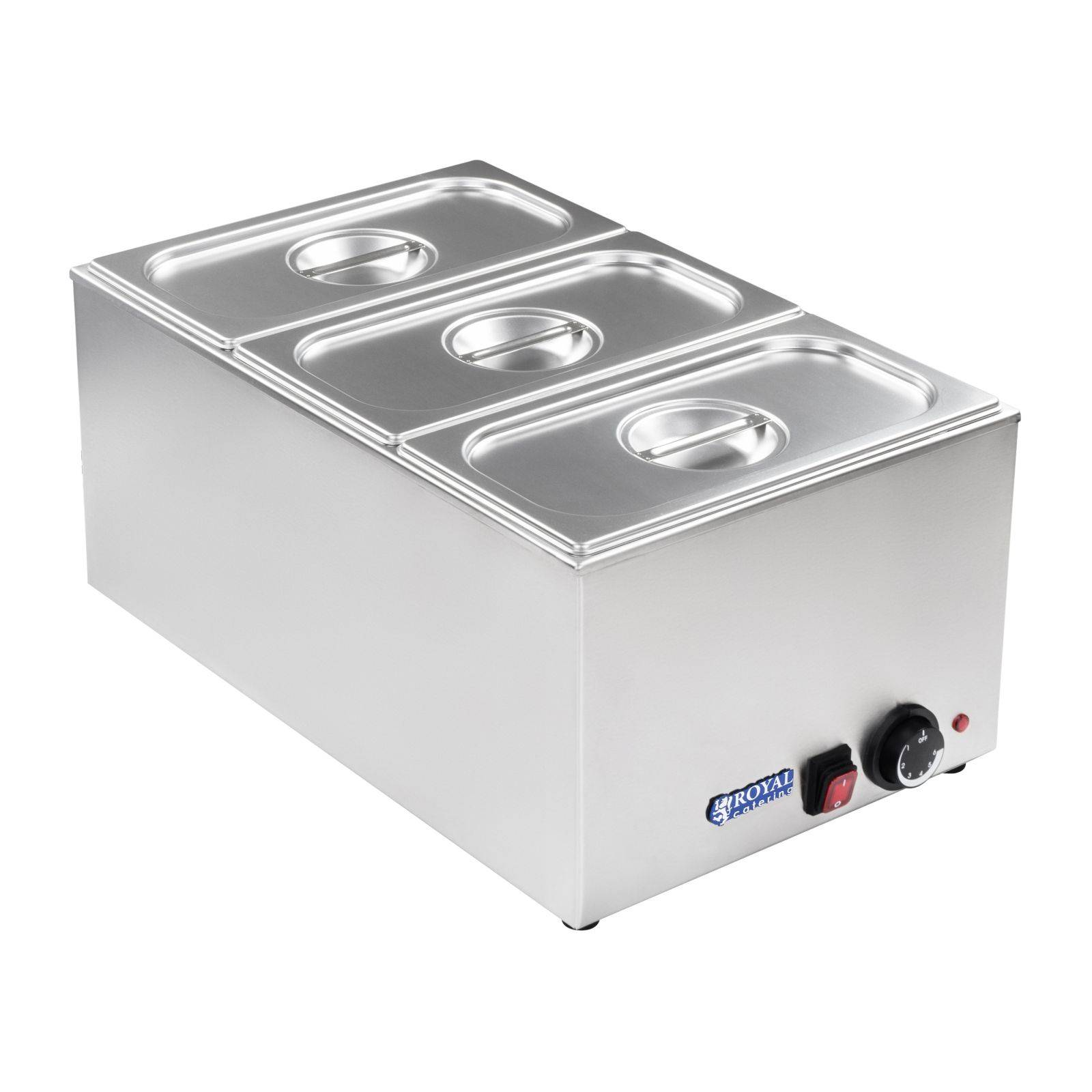 Royal Catering Bagnomaria professionale - Contenitore GN 1/3 RCBM-1/3-150-GN