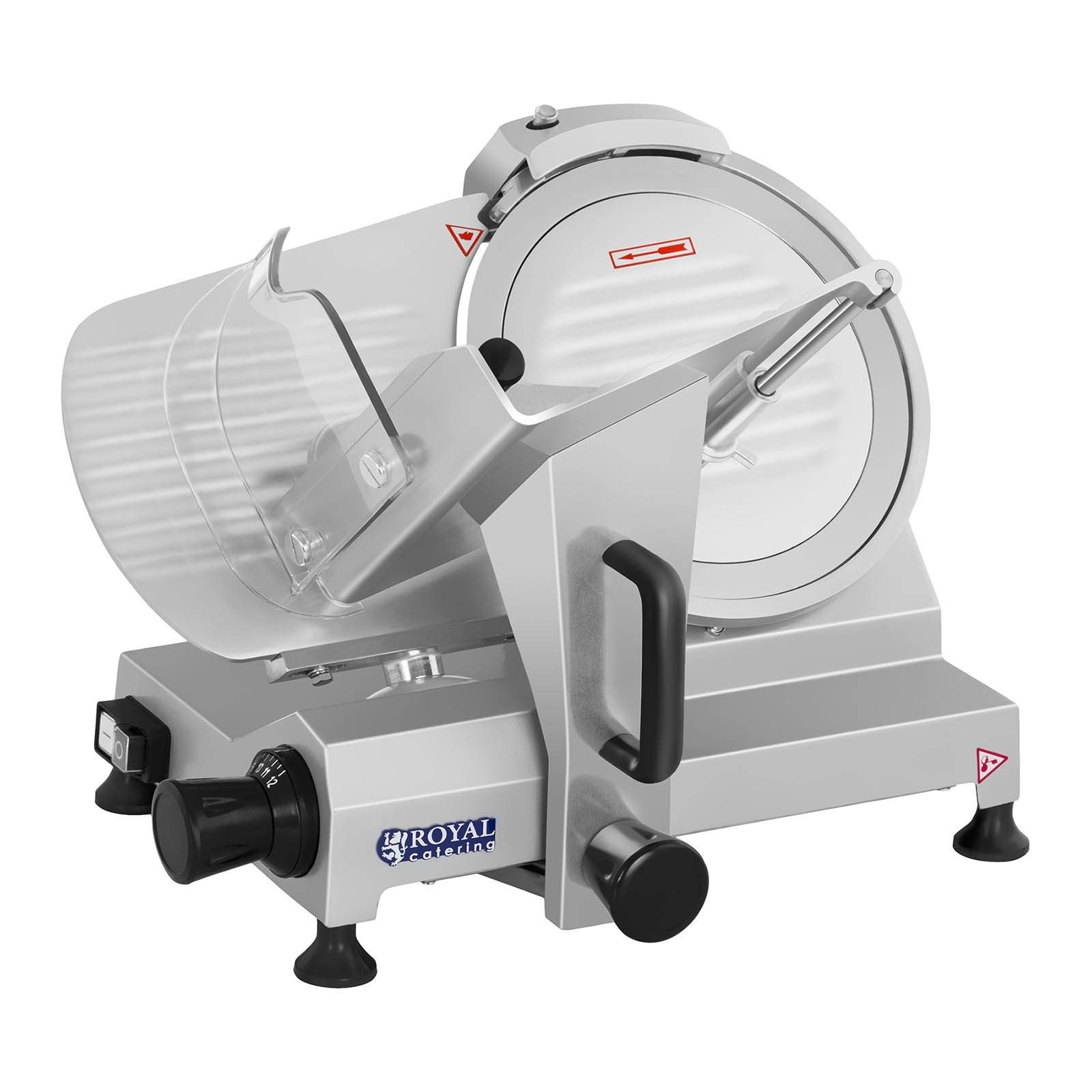 Royal Catering Affettatrice - 250 mm - fino a 12 mm - 150 W RCAM-250