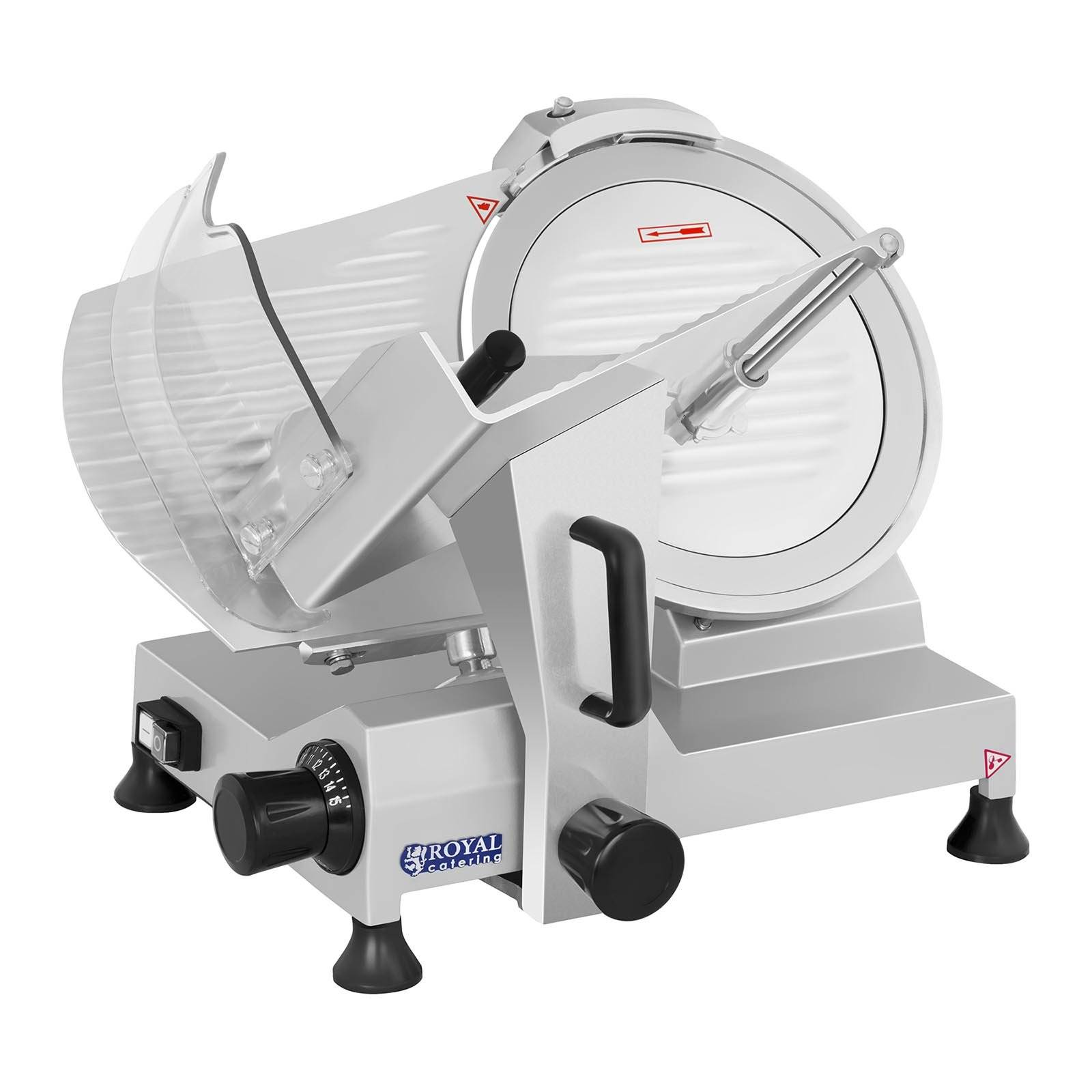 Royal Catering Affettatrice - 300 mm - fino a 15 mm - 250 W RCAM-300