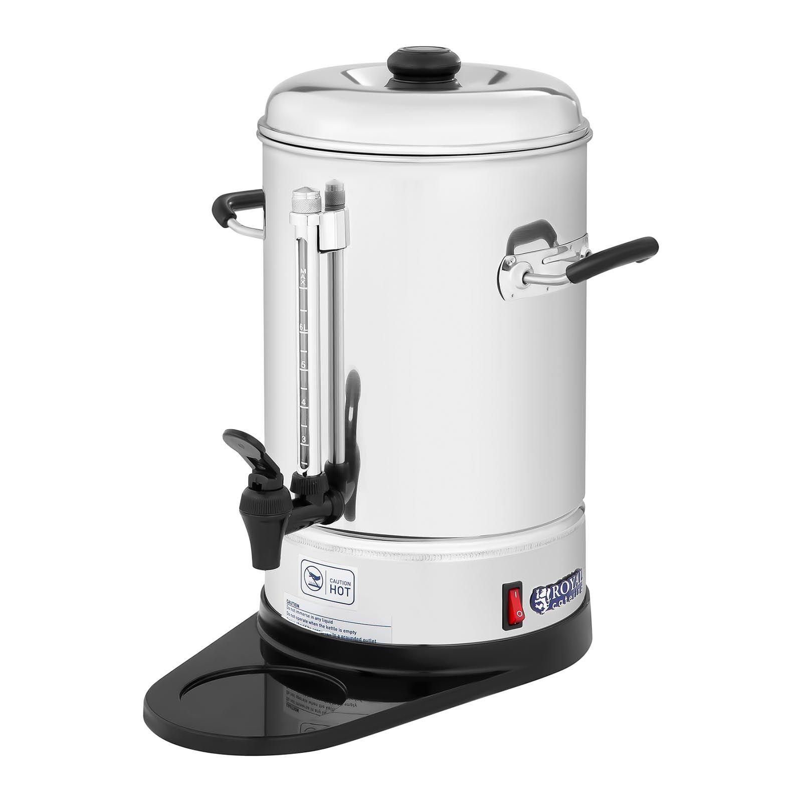 royal catering macchina del caffè professionale- 6 l