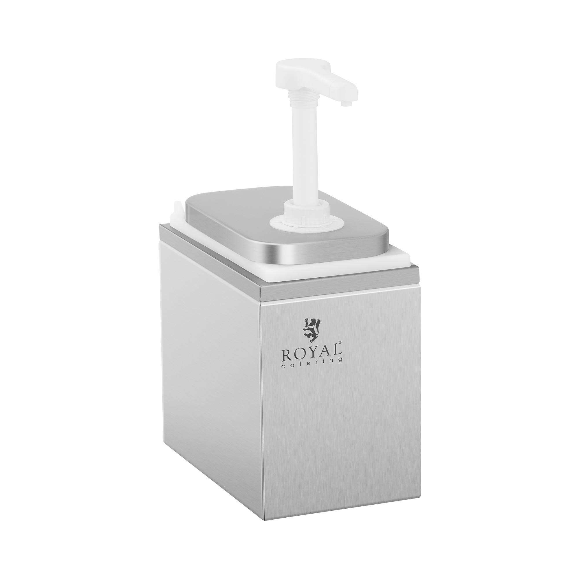 Royal Catering Dispenser per salse - 2 pompe - 2 x 1 L RCDI-2L