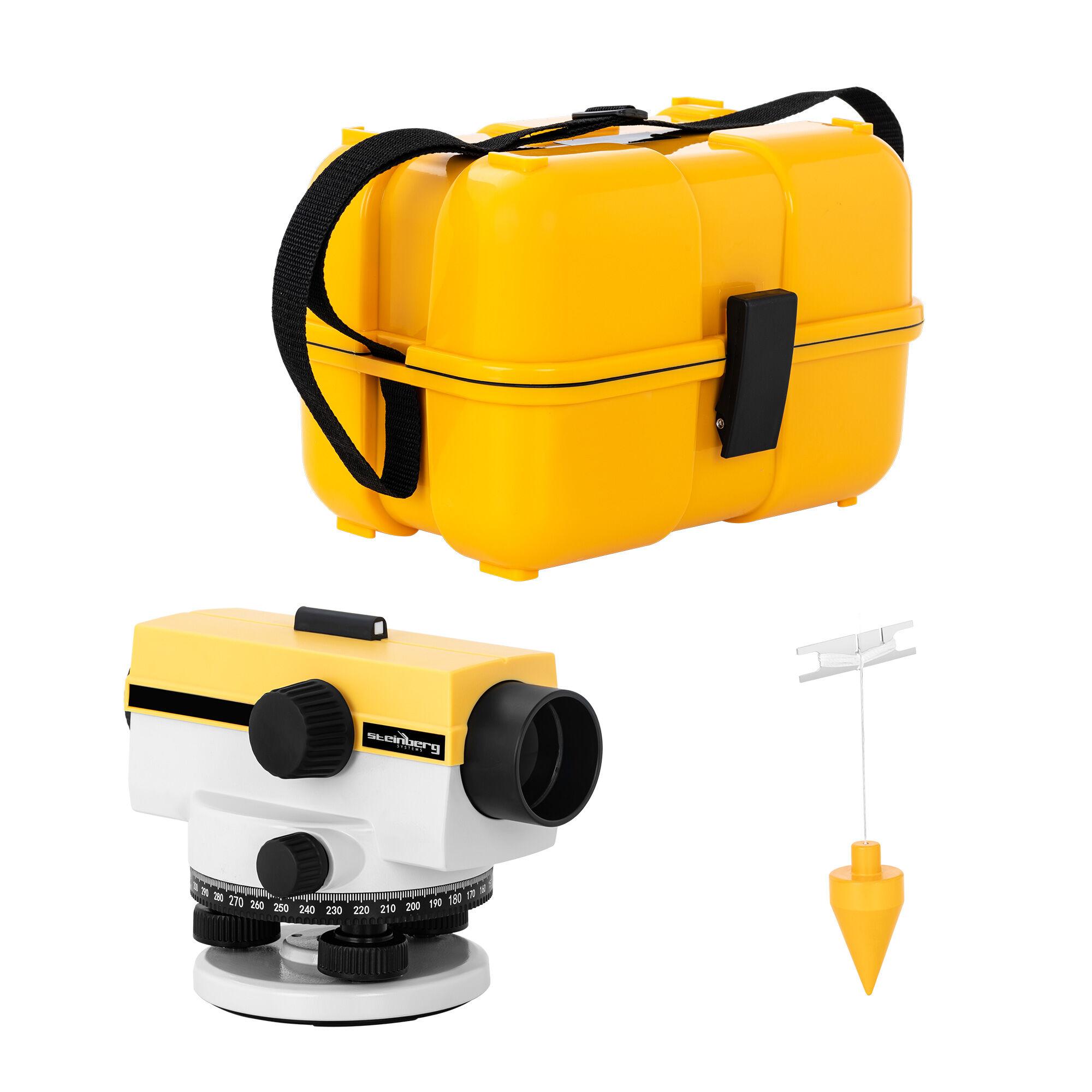 Steinberg Livello ottico - ingrandimento 32x - obiettivo 40 mm - deviazione 1 mm - compensatore ad aria SBS-LI-32/40