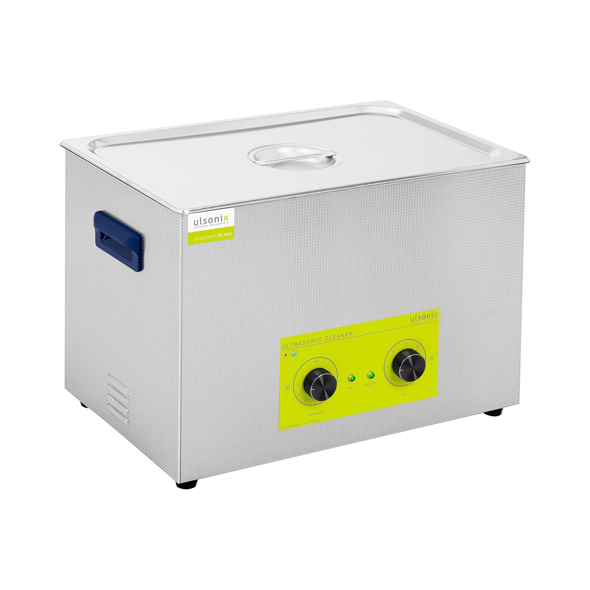 ulsonix Lavatrice a ultrasuoni - 30 litri - 600 W PROCLEAN 30.0MS