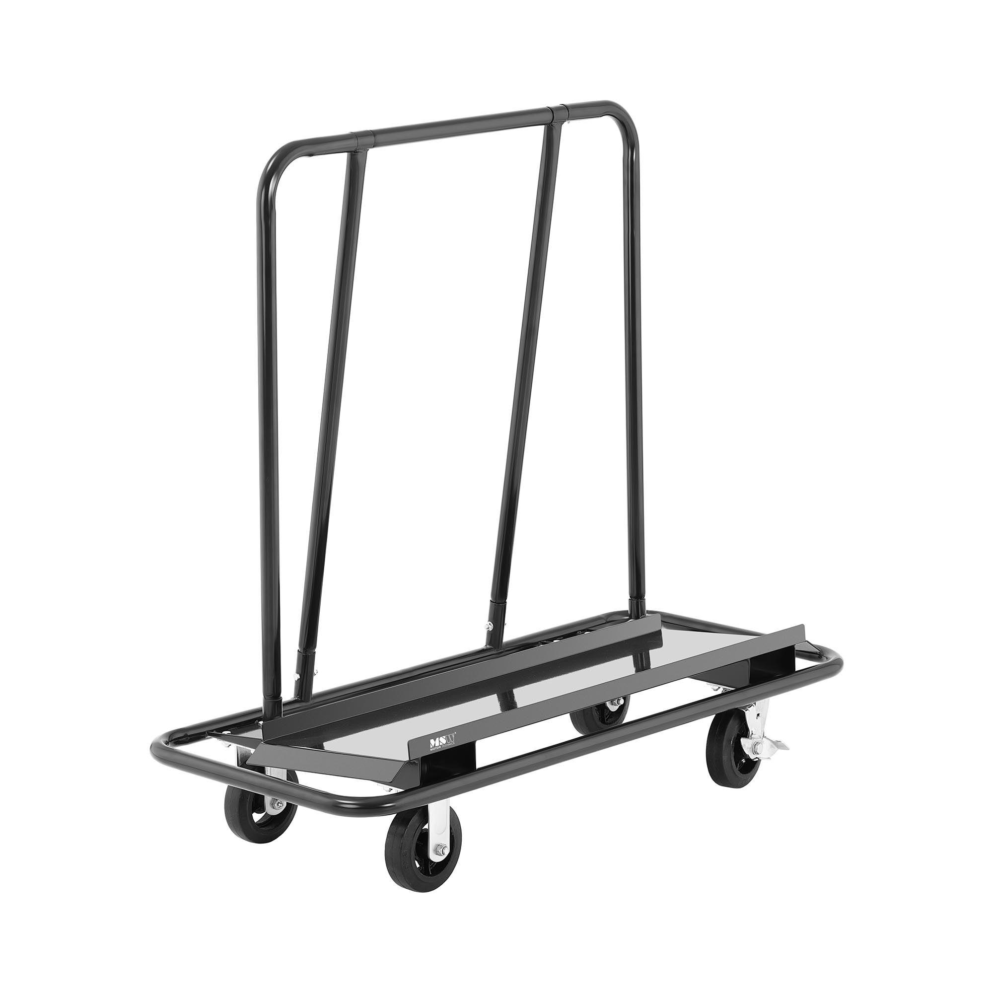 MSW Carrello porta pannelli di cartongesso - Fino a 500 kg -WDH-500