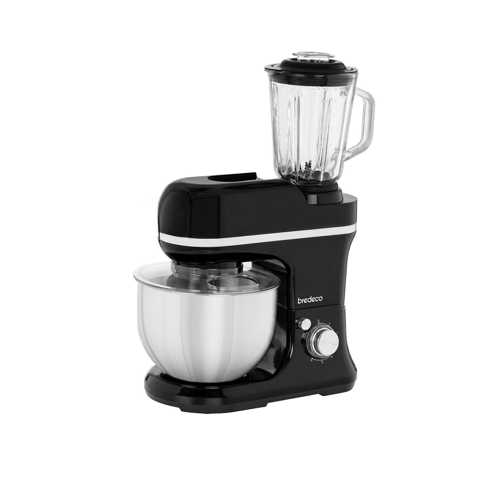 bredeco Robot da cucina multifunzione - mixer incluso - 1.200 W BCPM-1200-PRO