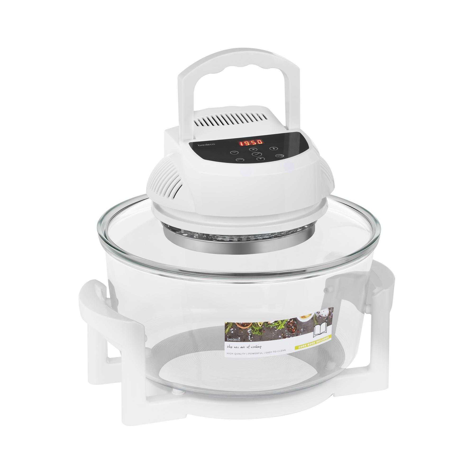 bredeco Forno alogeno con anello di espansione - digitale - 250 °C - 180 min