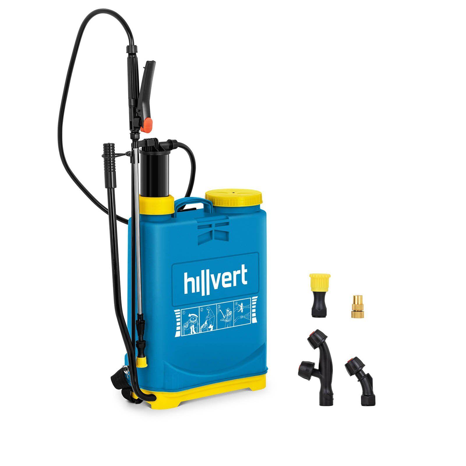 hillvert Pompa irroratrice a pressione - 16 l HT-COLUMBIA-16L