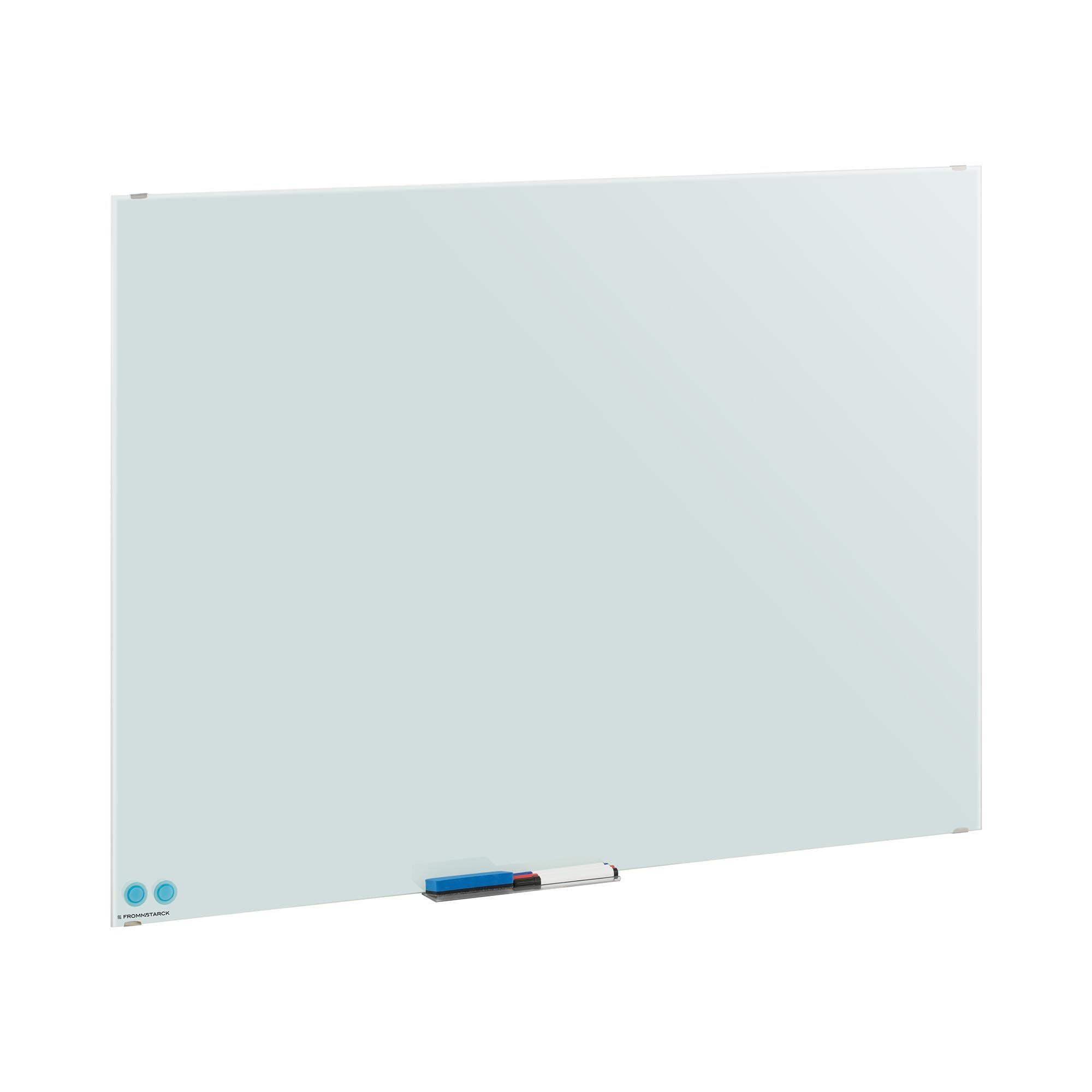 fromm & starck lavagna magnetica bianca per pennarelli - 90 x 120 x 0,4 star_wbm_06