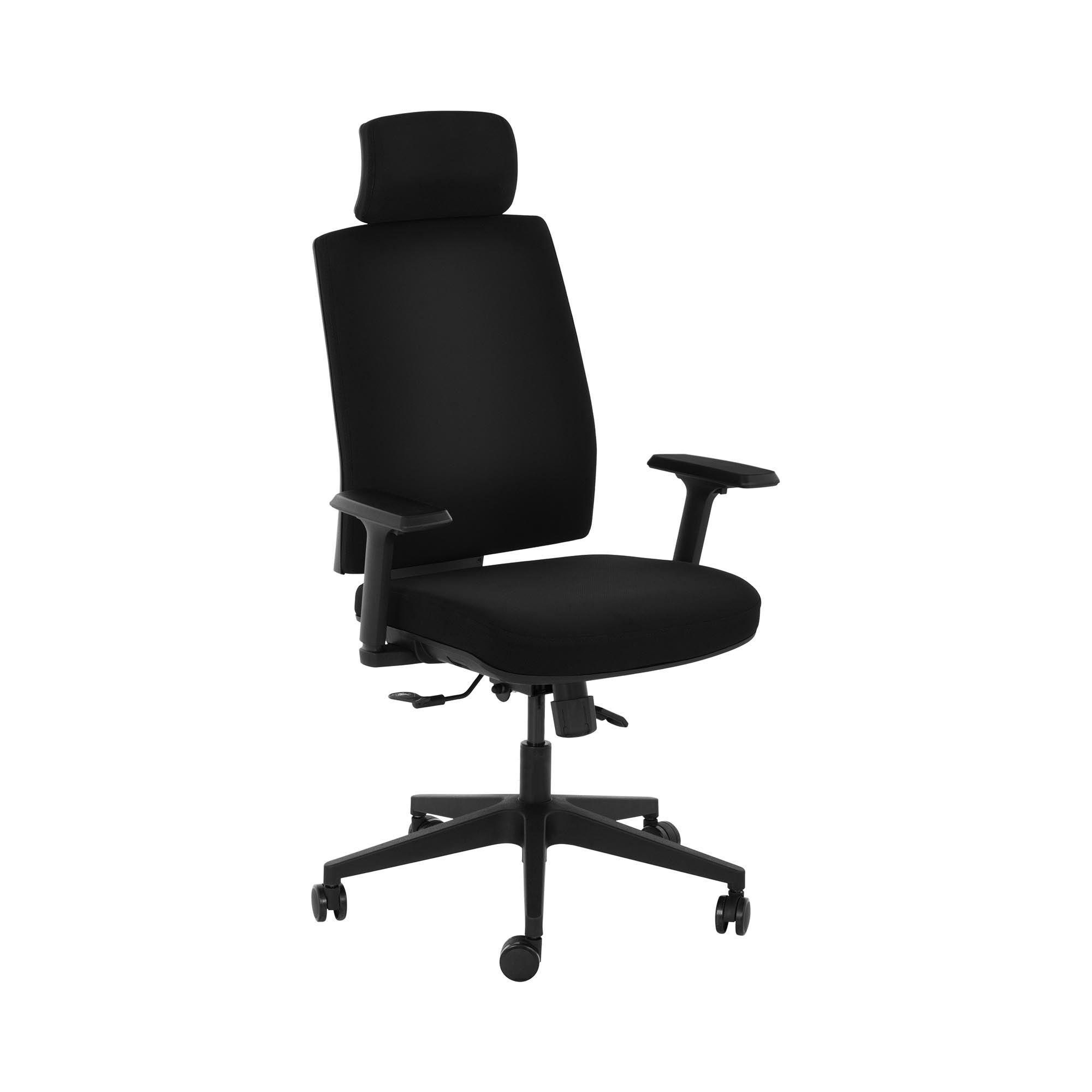 Fromm & Starck Sedia ufficio - Poltrona girevole - Con poggiatesta - 200 kg STAR_SEAT_19
