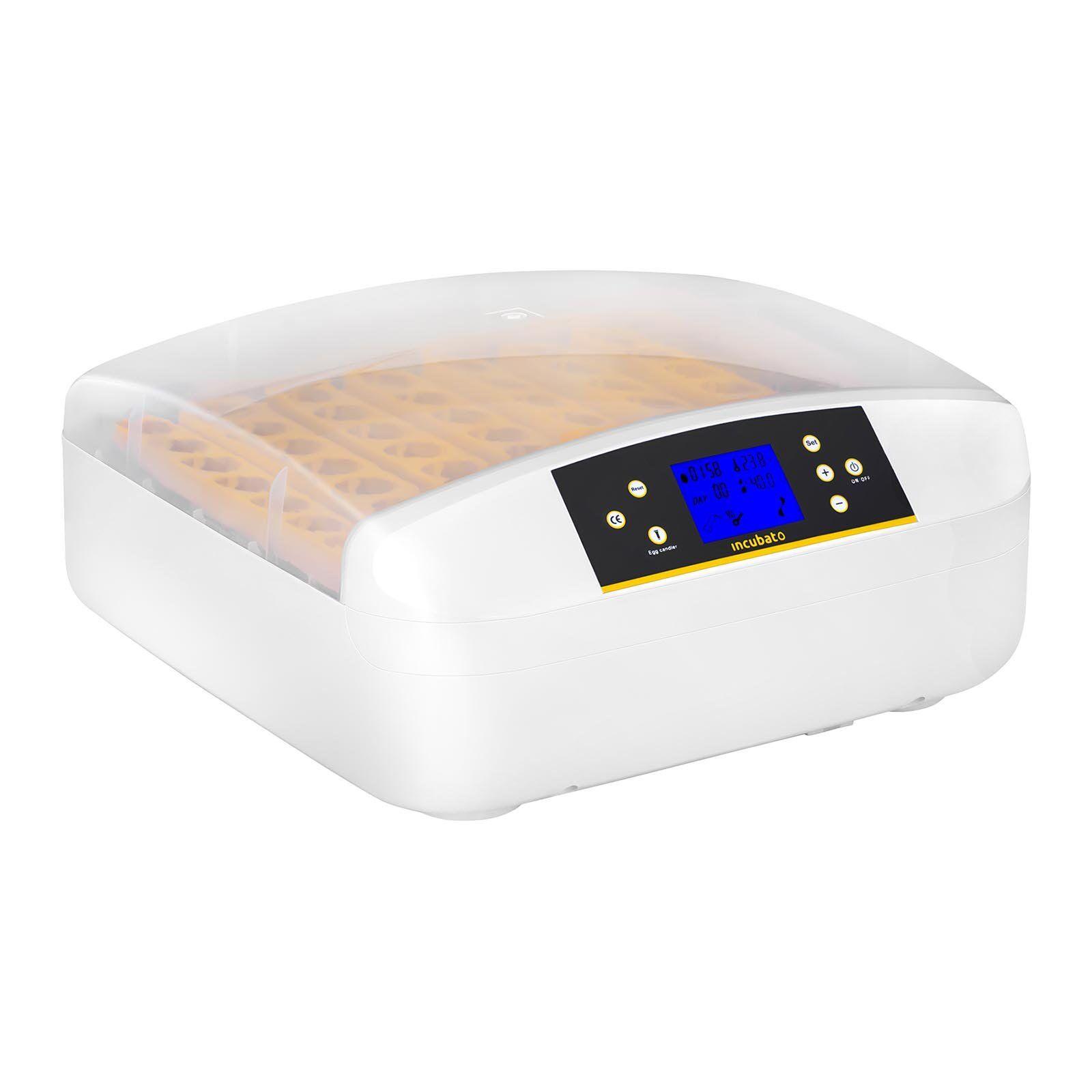 incubato Incubatrice per uova professionale - 56 uova - distributore d'acqua - completamente automatica IN-56DDI