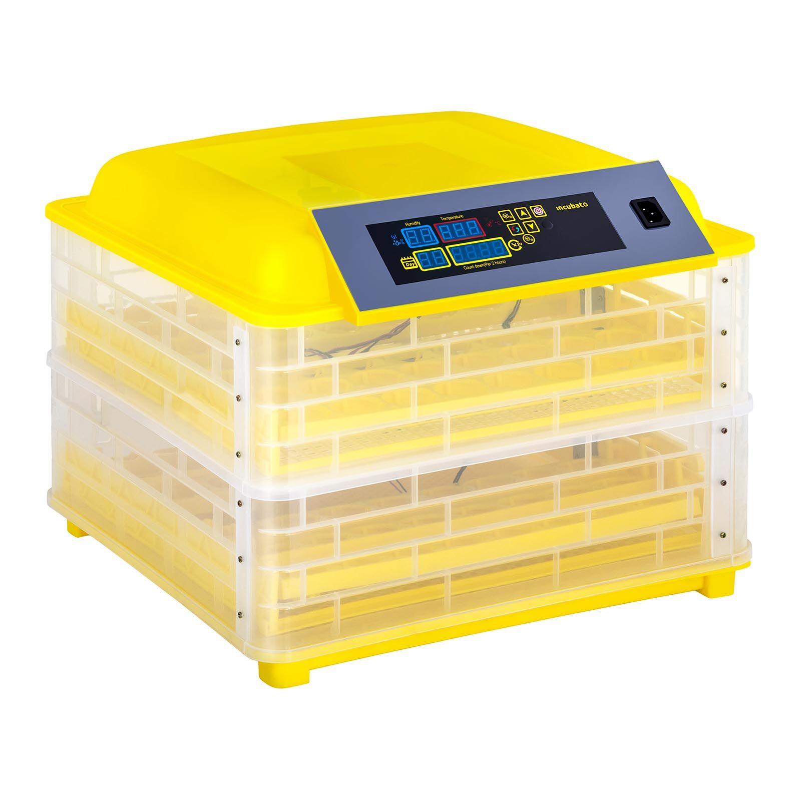 incubato Incubatrice per uova professionale - 96 uova - lampada sperauova inclusa - completamente automatica IN-96DDI
