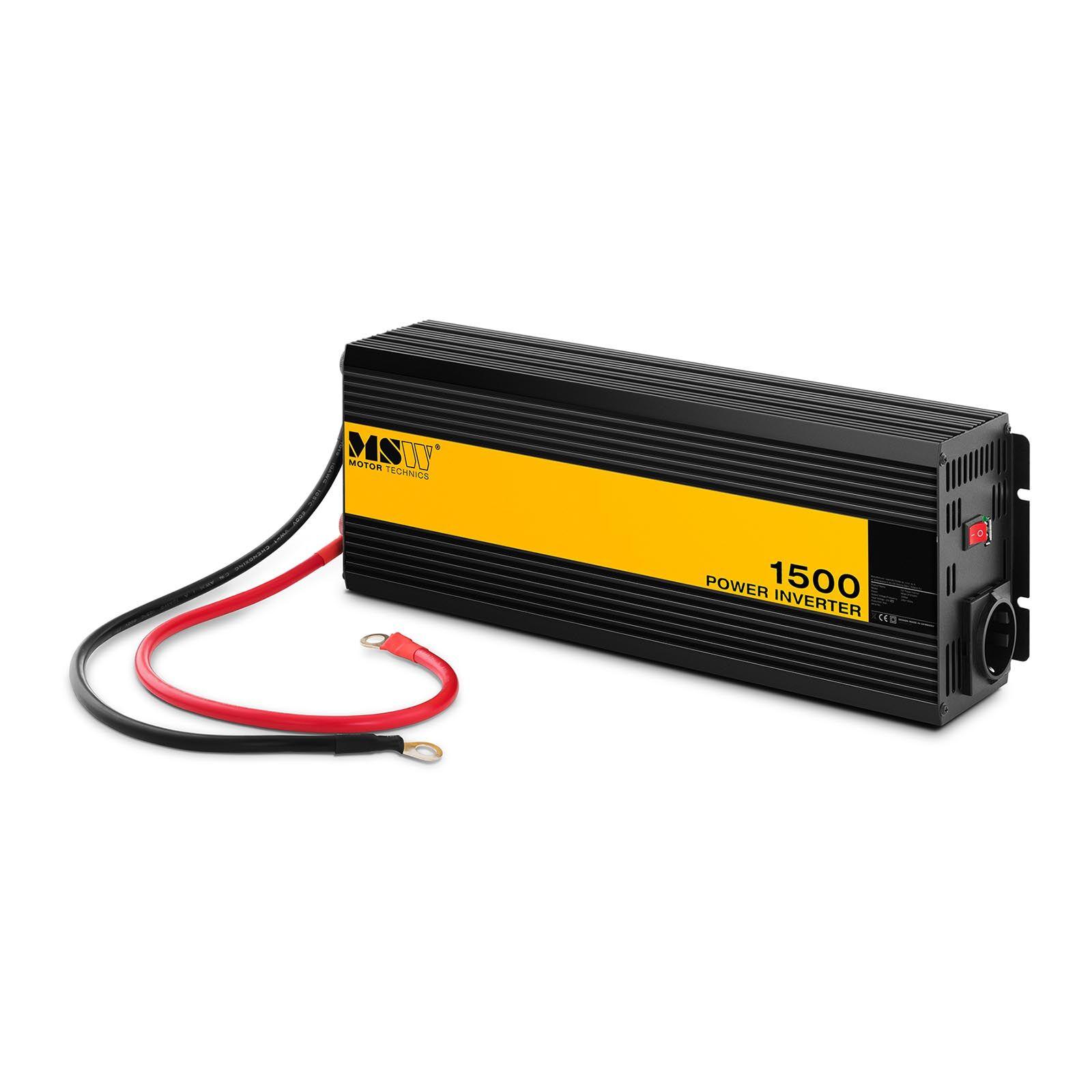 msw inverter per auto - onda sinusoidale pura - 1.500 w -cpi-1500ps